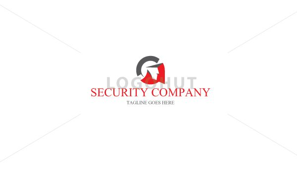 G Letter Security Person Logo Logohut
