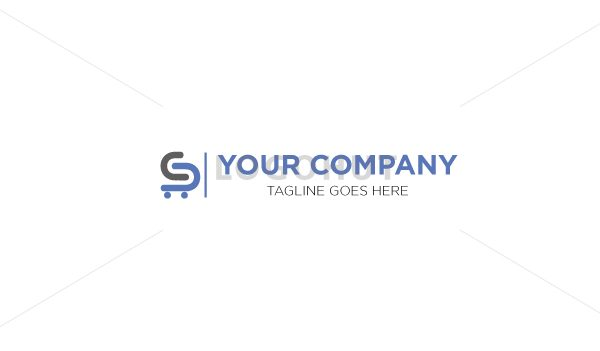 s-letter-ecommerce-shopping-cart-logo-100407