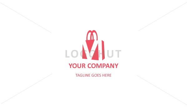 discount collection classic styles fashion style of 2019 M Letter Shopping Bag Logo