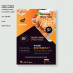 Blank poster a4 size mockup template